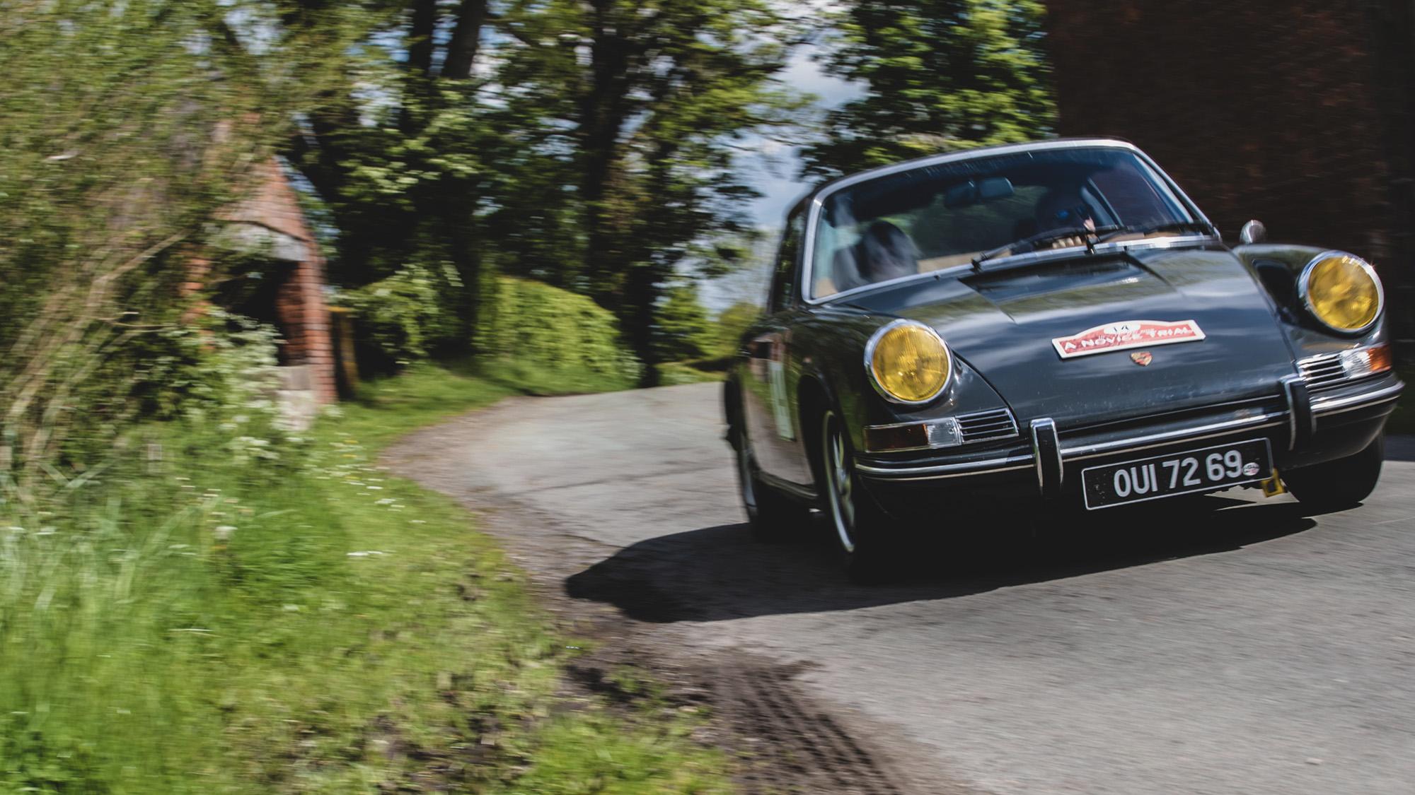 Porsche 911 on HERO Novice Trial 2019 event