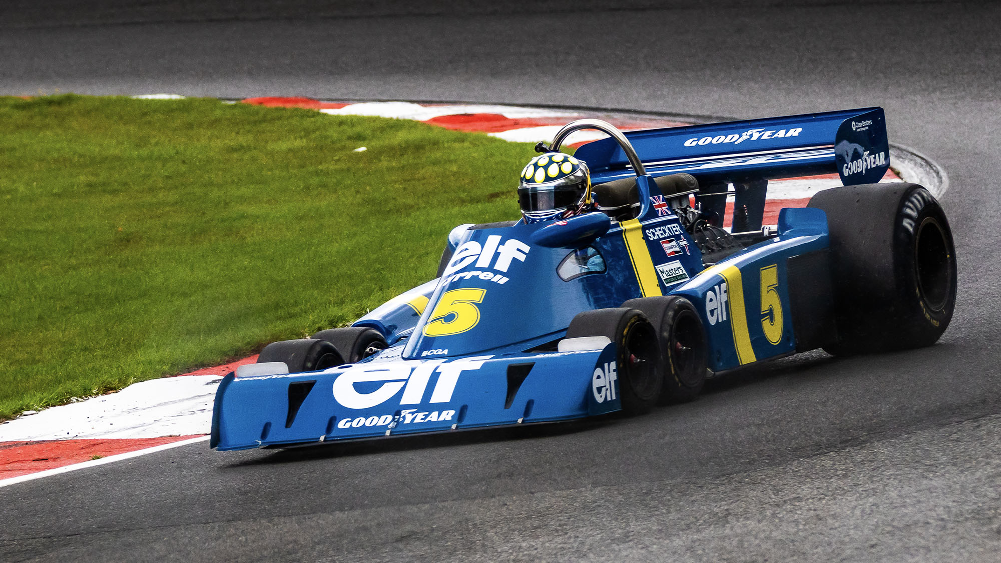 Back from the blueprints: Brands debut for six-wheeled Tyrrell P34 'continuation'