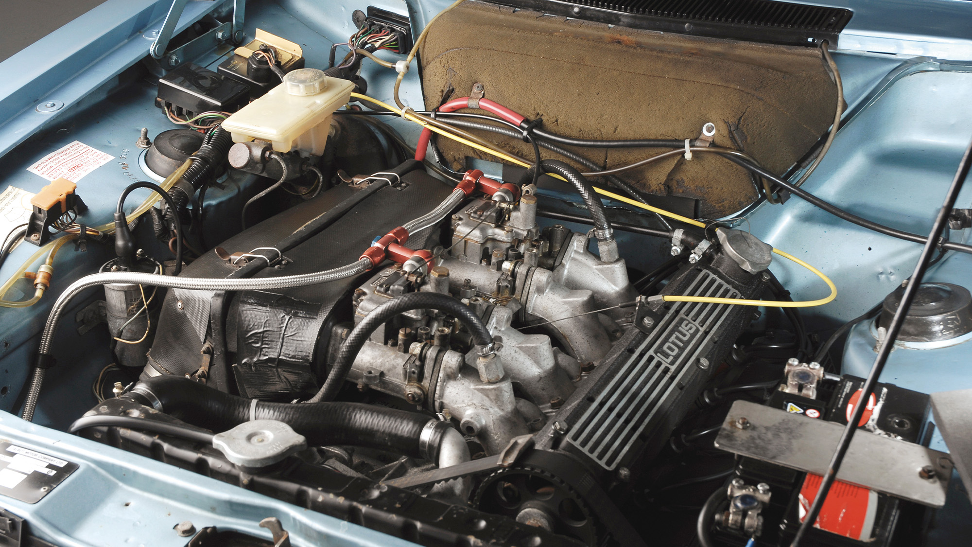 2.2 litre Lotus engine in the Talbot Sunbeam Lotus