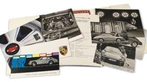 1967 Porsche 911S press kit