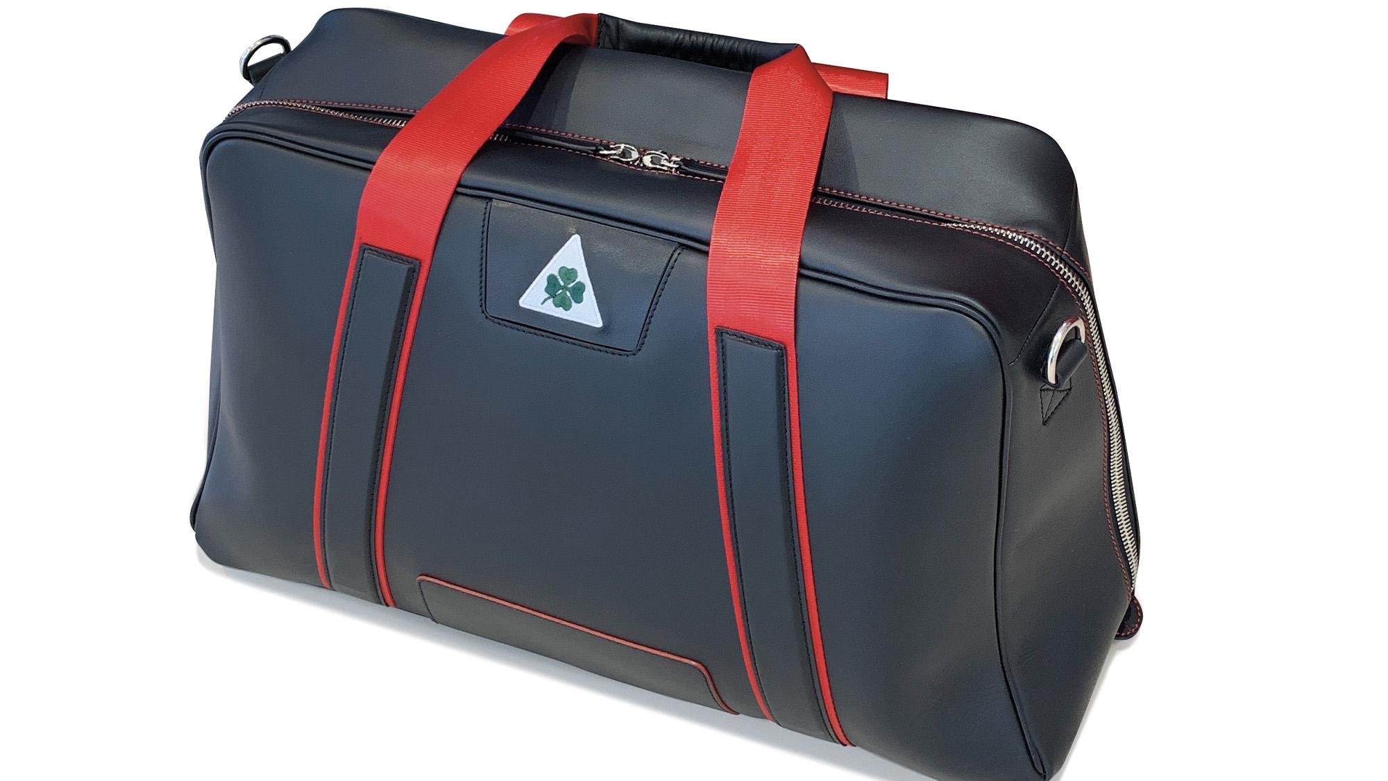 Alfa Romeo leather bag
