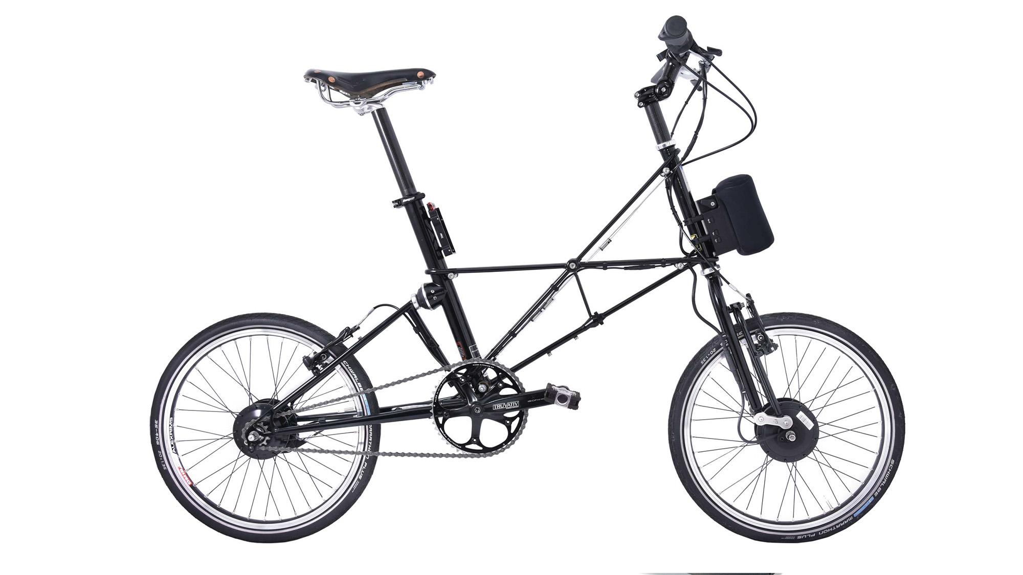 Arcc Moulton TSR electric bicycle
