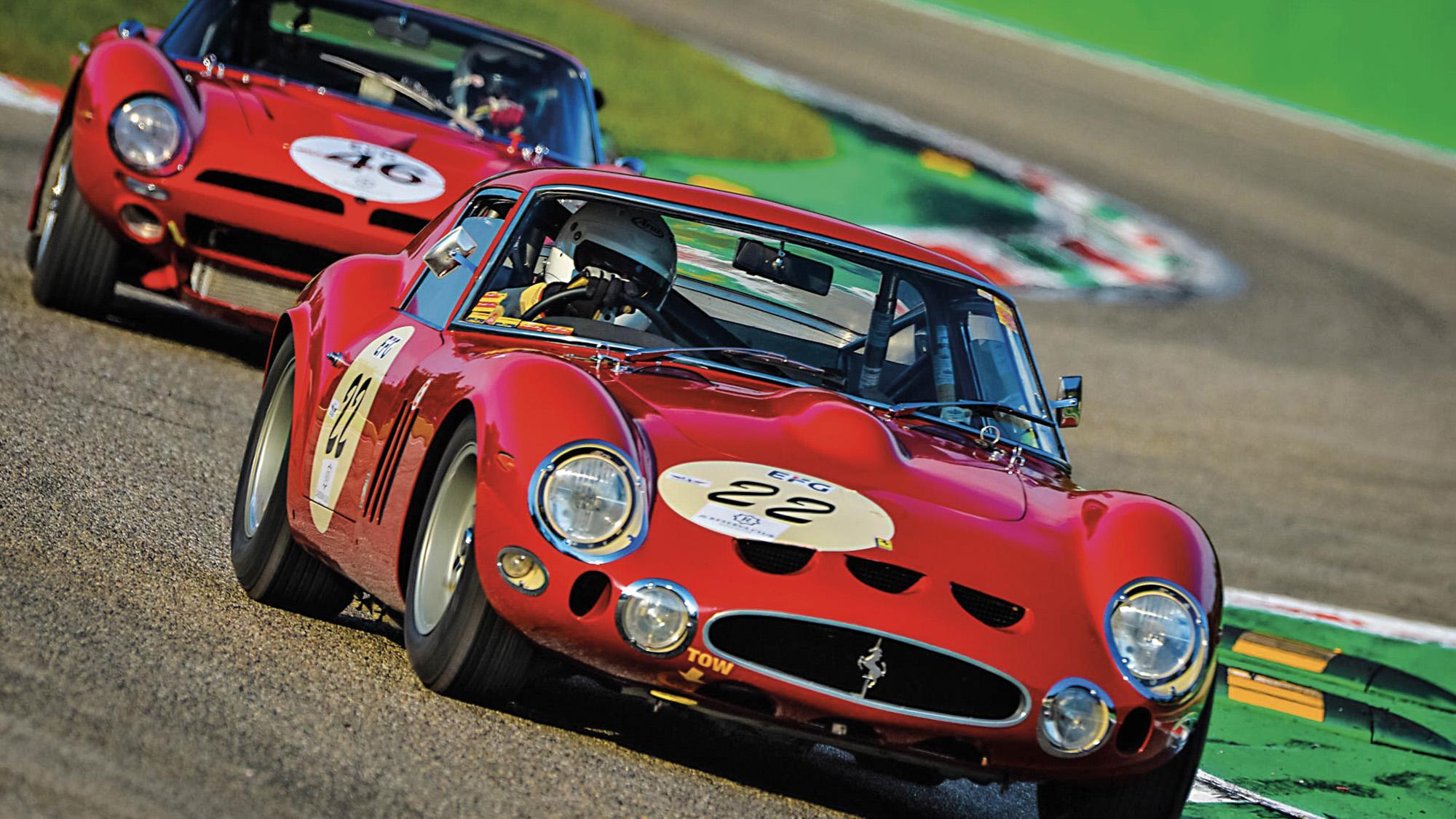 Ferrari at the Monza Historic event