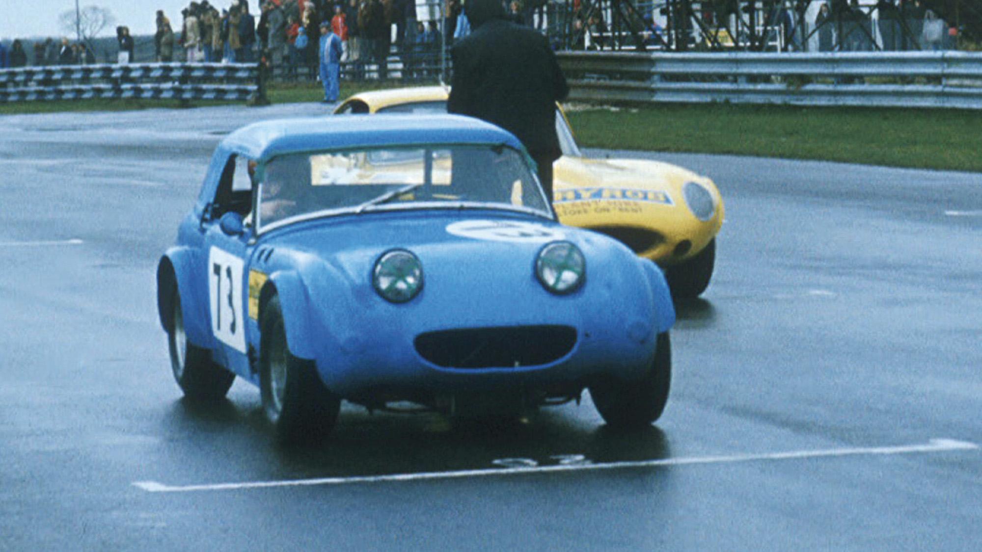 Frogeye Sprite raced by Jonathan Palmer