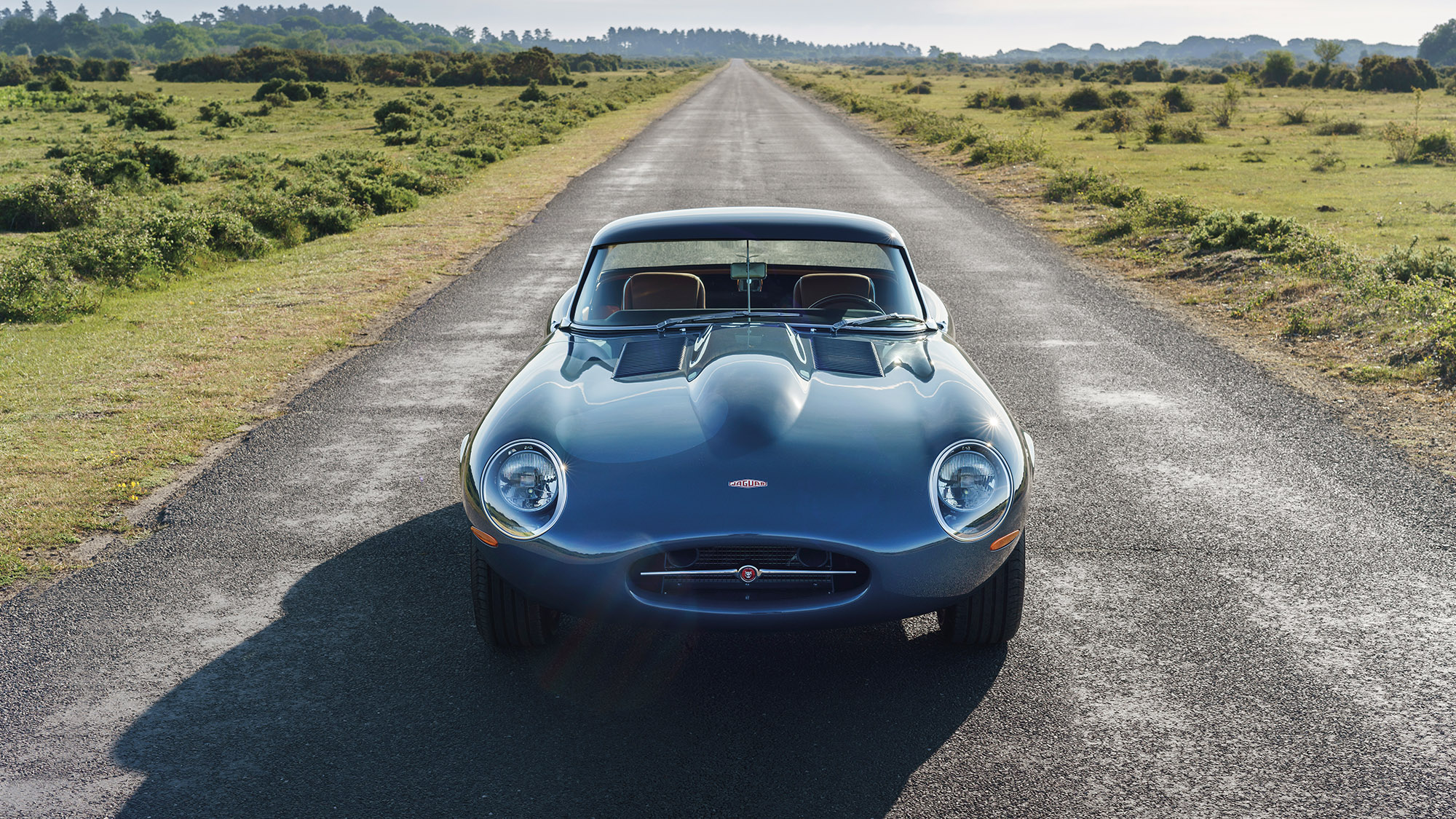 Front shot of the 2020 Eagle E-type Lightweight GT