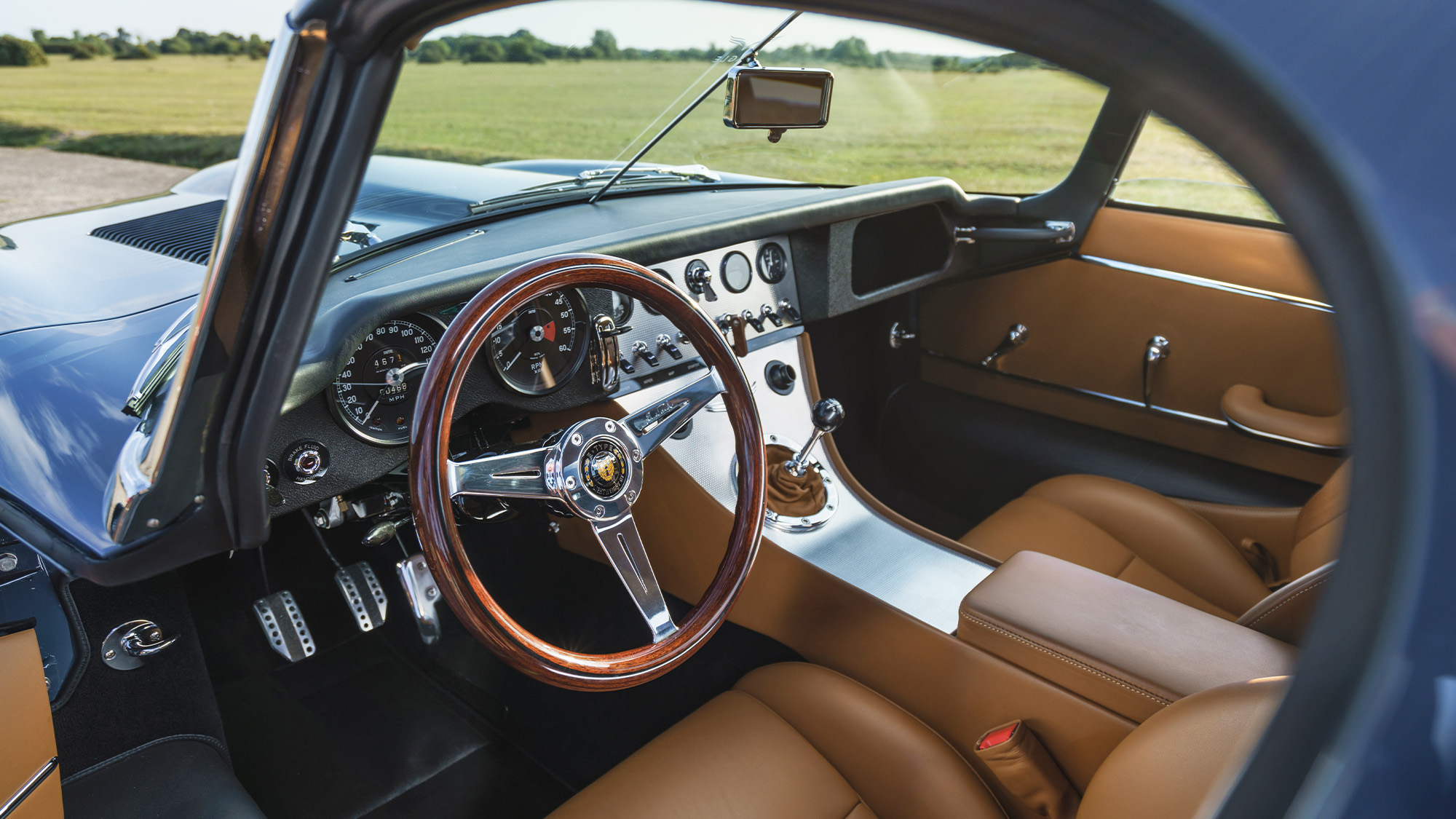 Interior of the 2020 Eagle E-type Lightweight GT