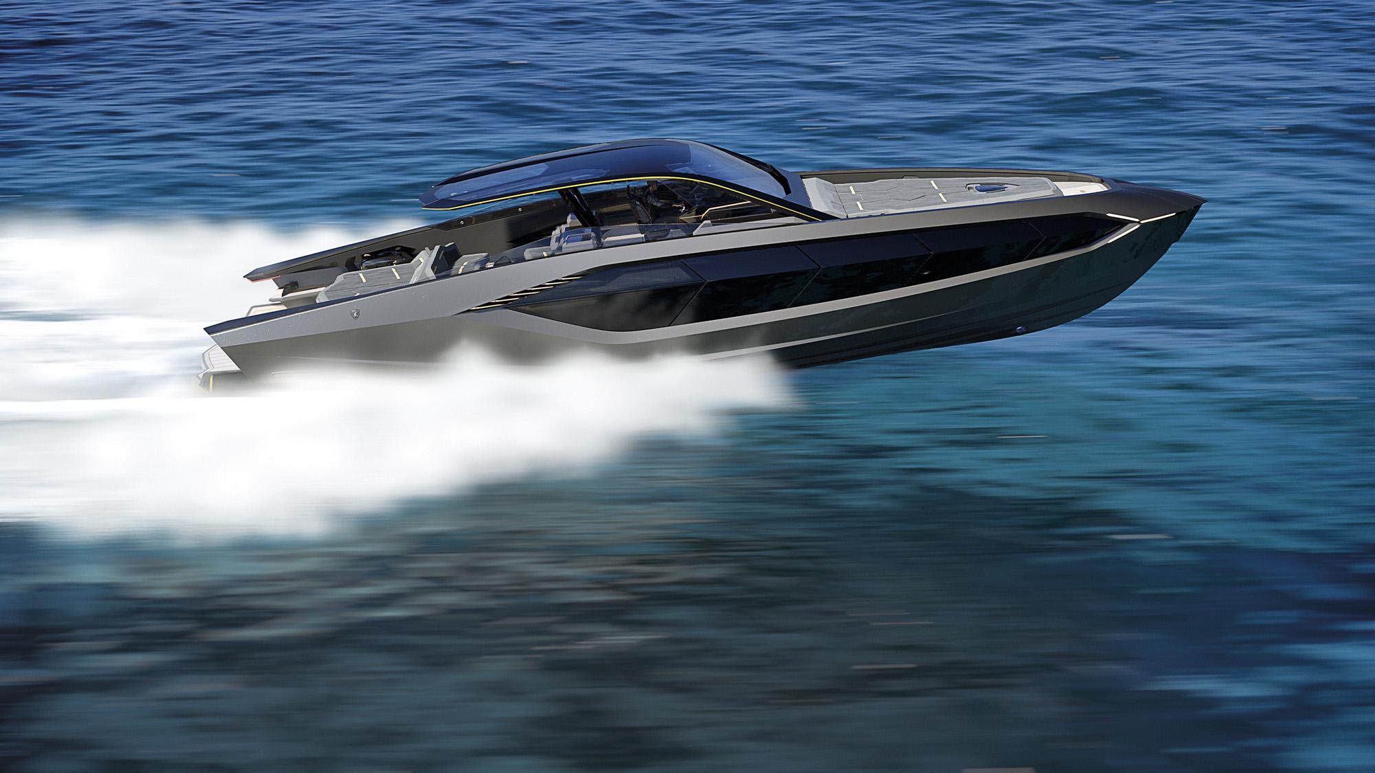 Lamborghini powerboat