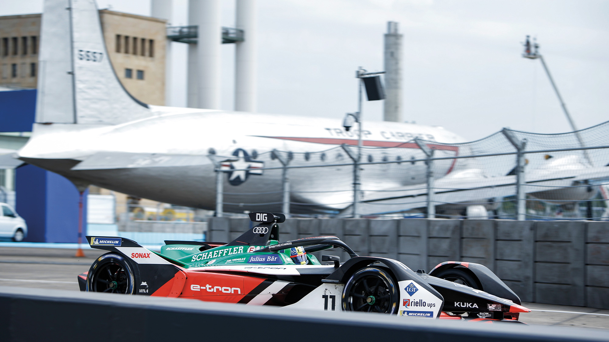 Lucas DiGrassi during the final Berlin races of the 2019-21 Formula E Championship