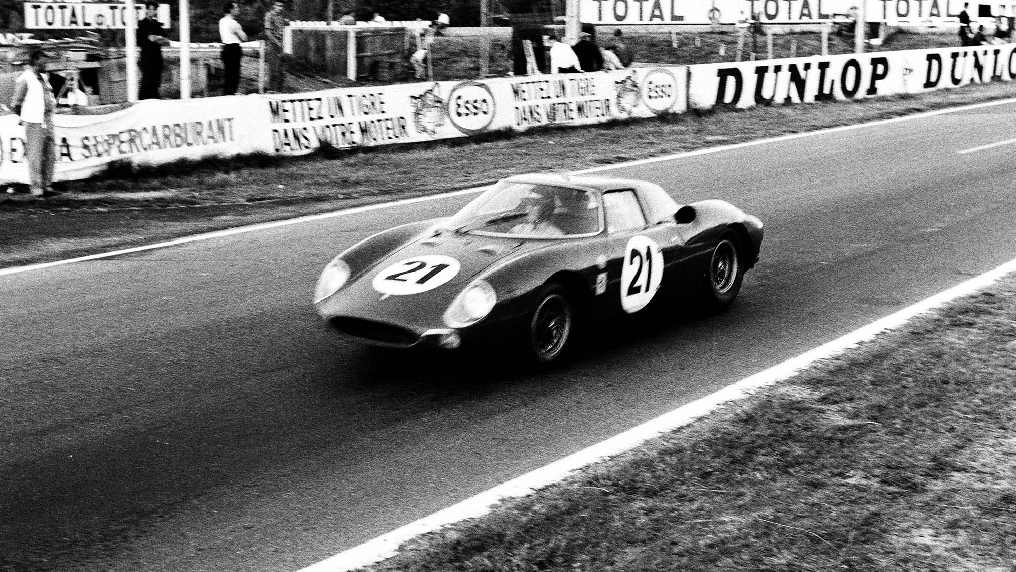 Rindt Gregory NART Ferrari 250 Lm during the 1965 Le Mans 24 Hours