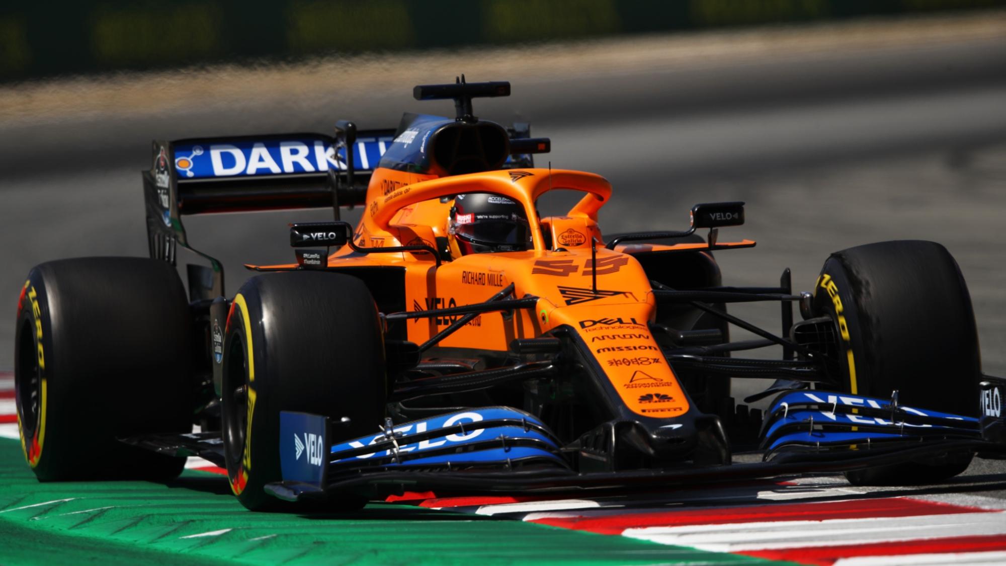 Carlos Sainz, 2020 Spanish GP