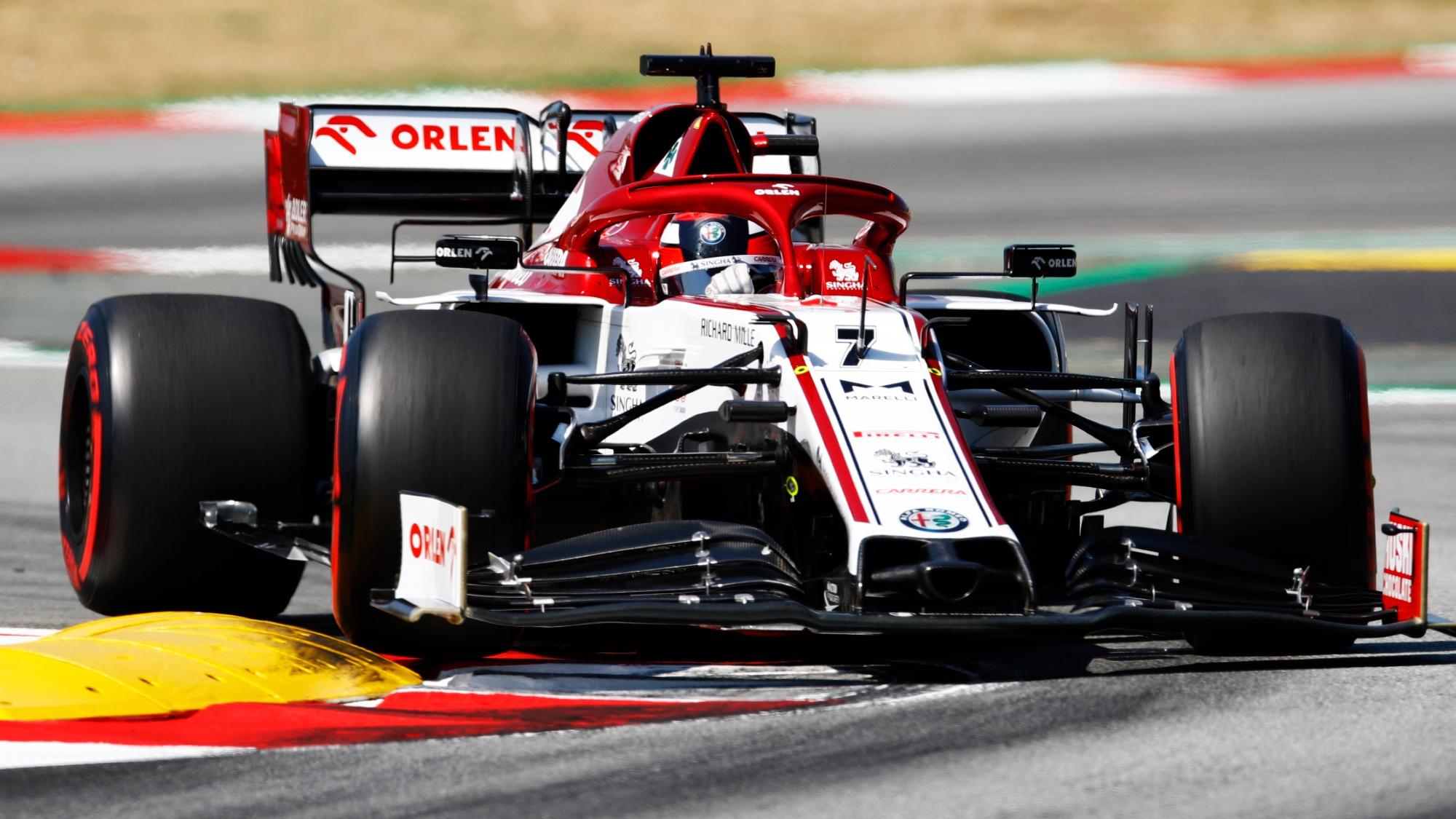 Kimi Raikkonen, 2020 Spanish GP