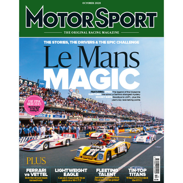 Product image for October 2020 | Le Mans Magic | Motor Sport Magazine