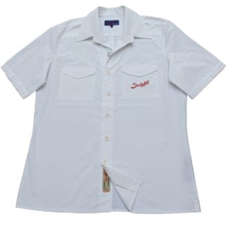 Product image for Brescia | Shirt - White | Suixtil
