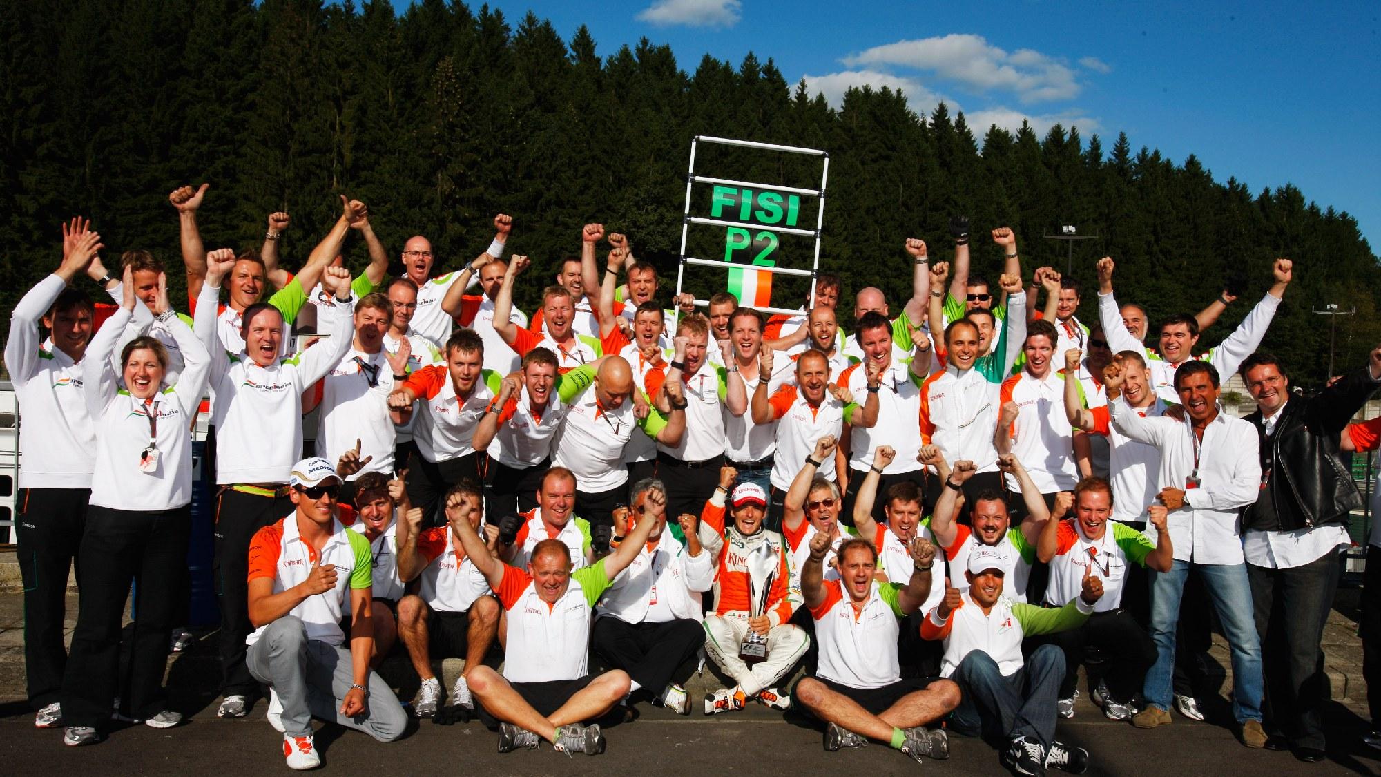 Force India, 2009 Belgian GP