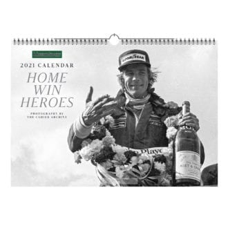 Product image for Home Wins | Motor Sport - 2021 | Calendar | Wall (pictured), Desk and Bundle
