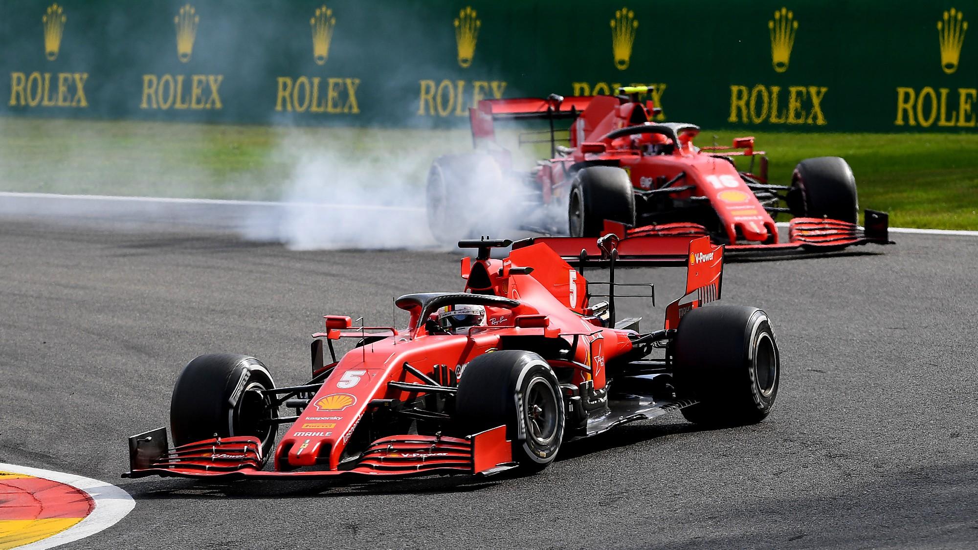 Sebastian Vettel, 2020 Belgian GP