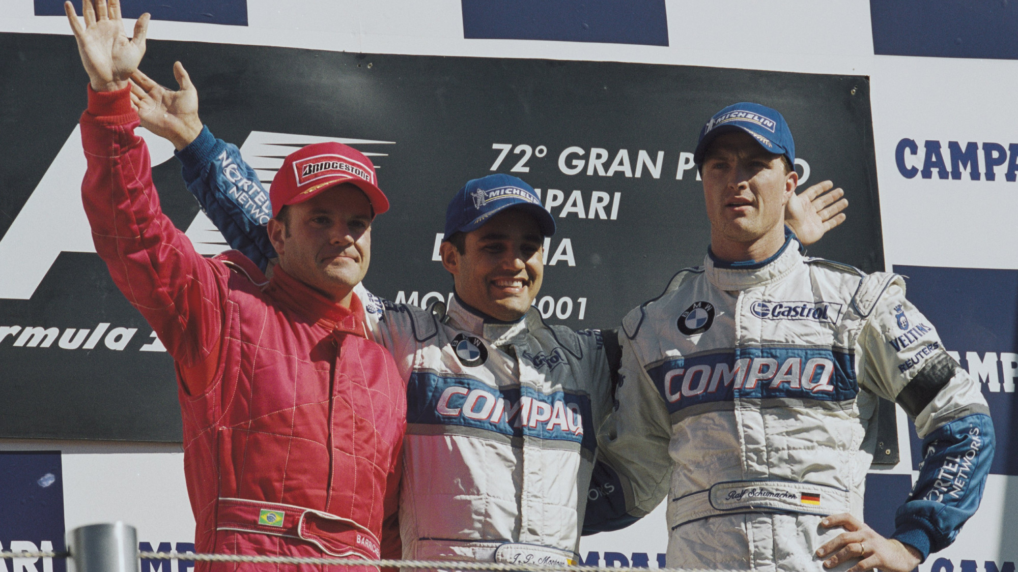 Monza 2001 Podium