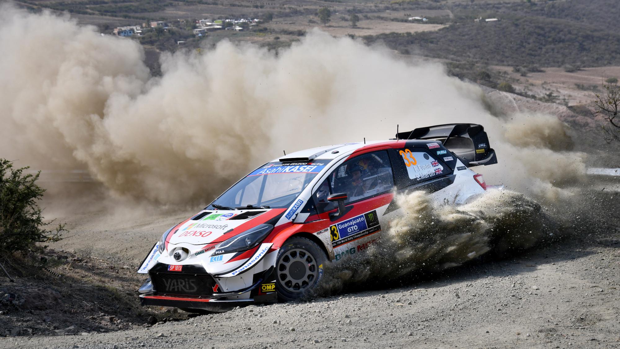 Elfyn Evans, 2020 Rally Mexico
