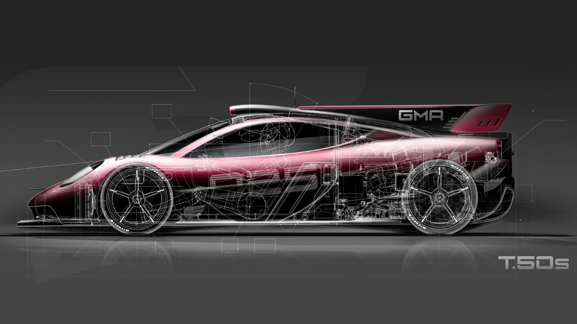 Gordon Murray unveils T50s racing version of supercar