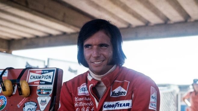 The first Brazilian to blaze a trail in F1: Emerson Fittipaldi