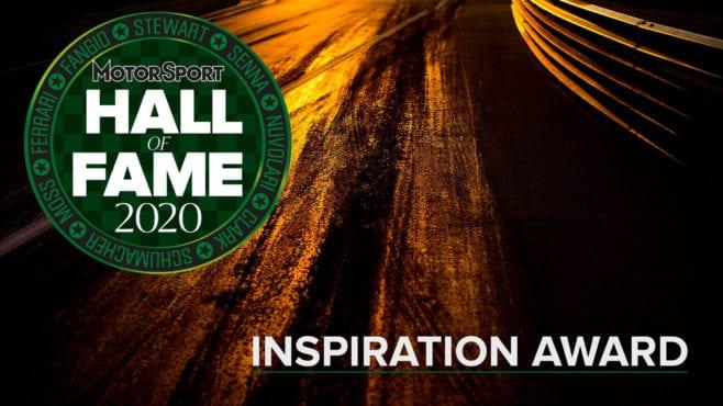 Hall of Fame 2020: Inspiration Award