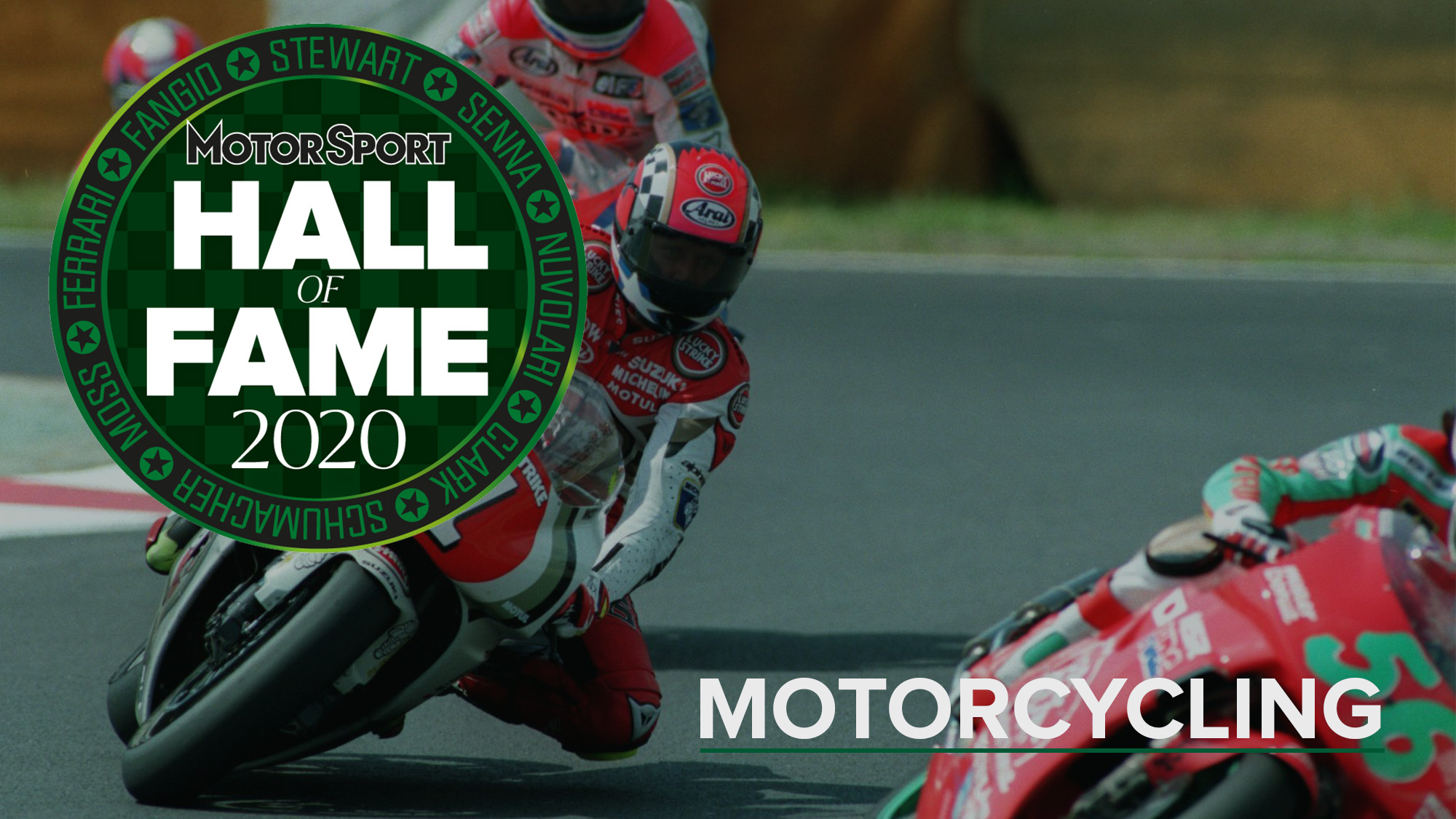 Hall of Fame 2020: Motorcycling nominees