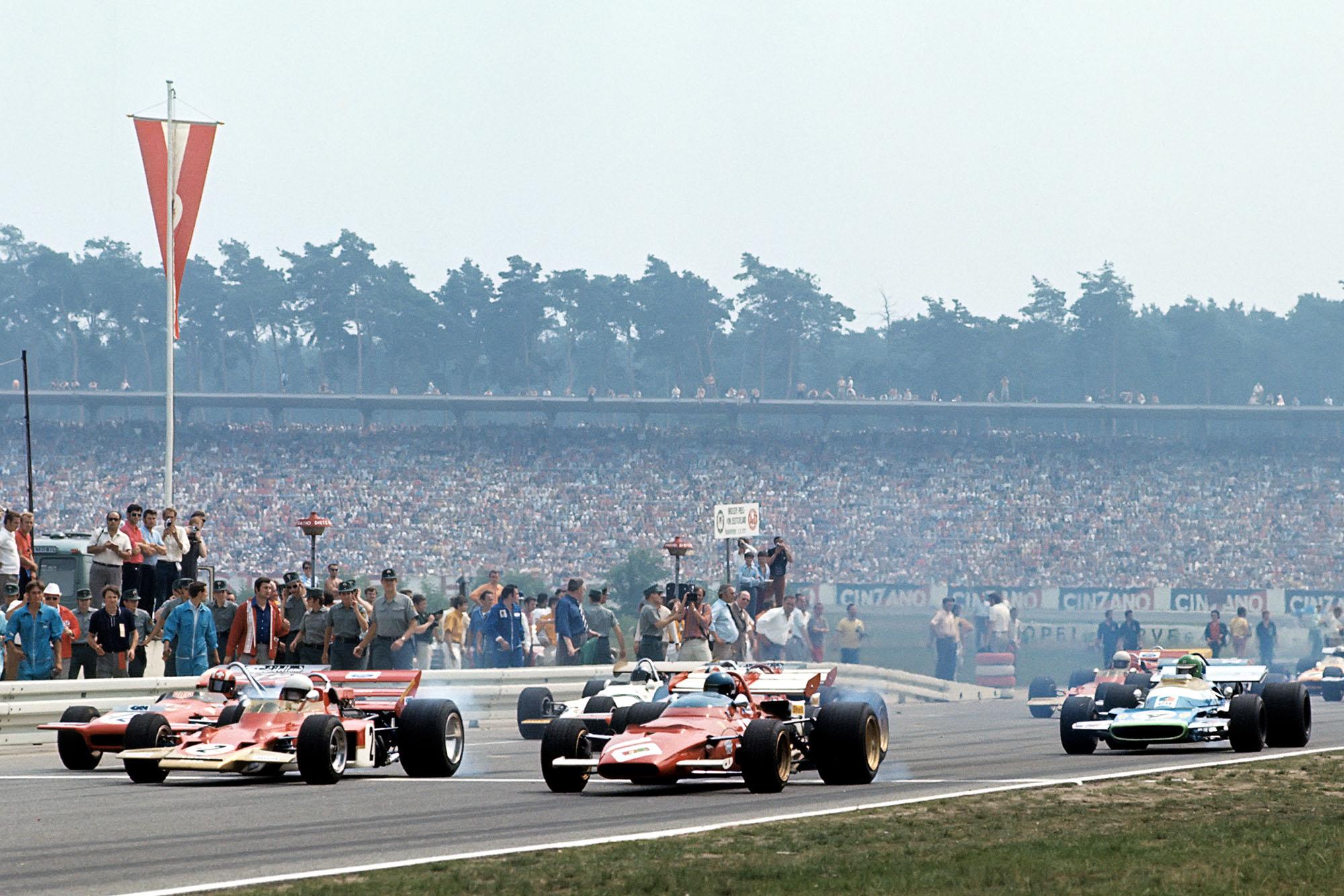 Jochen Rindt Lotus German Grand Prix 1970