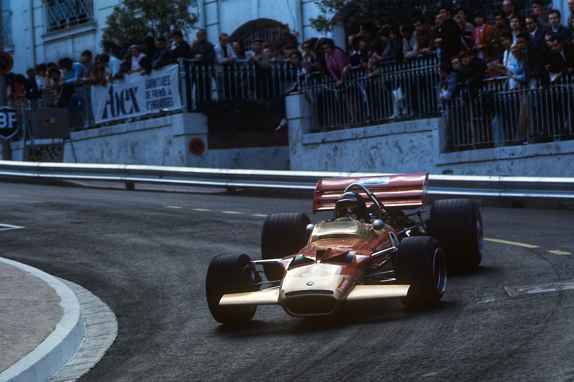 Jochen RIndt Lotus 1970 Monaco Grand Prix