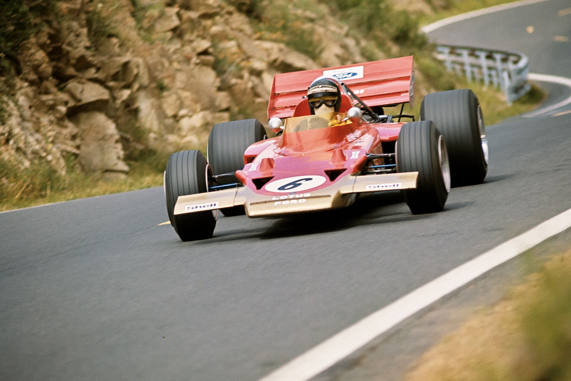 Jochen Rindt Lotus 1970 French Grand Prix