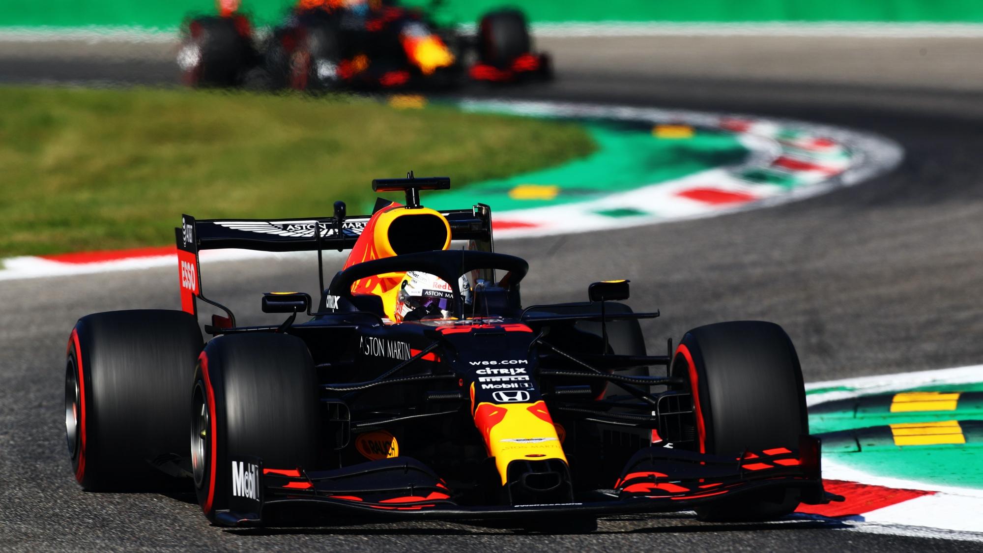 Max Verstappen, 2020 Italian GP