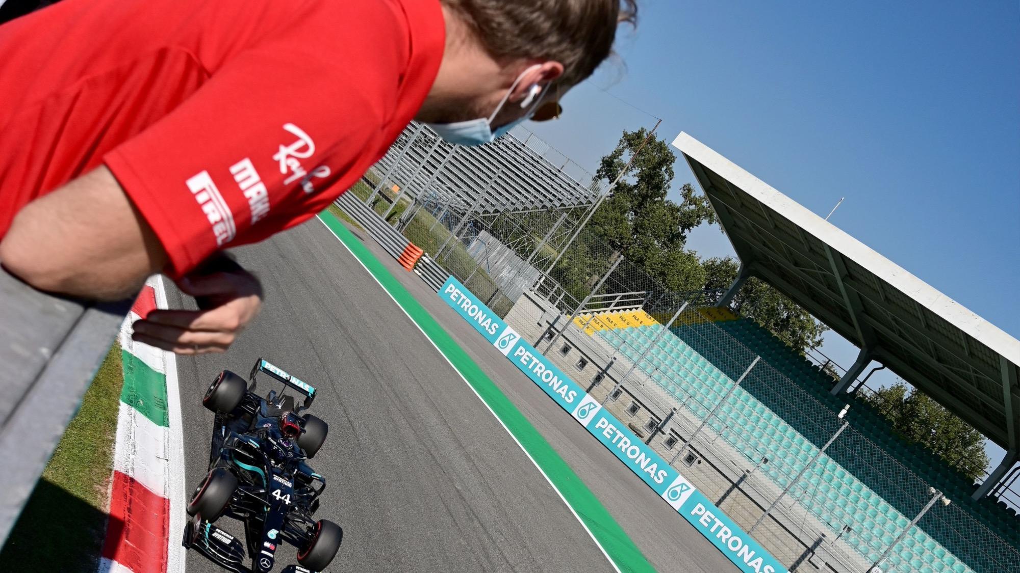 Seb Vettel, 2020 Italian GP