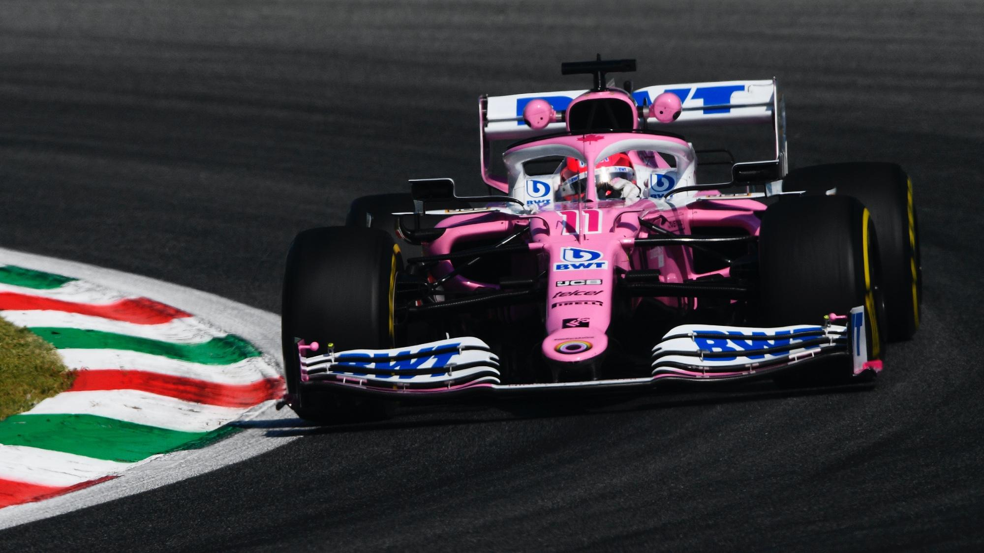 Racing Point, Monza 2020 Sergio Perez
