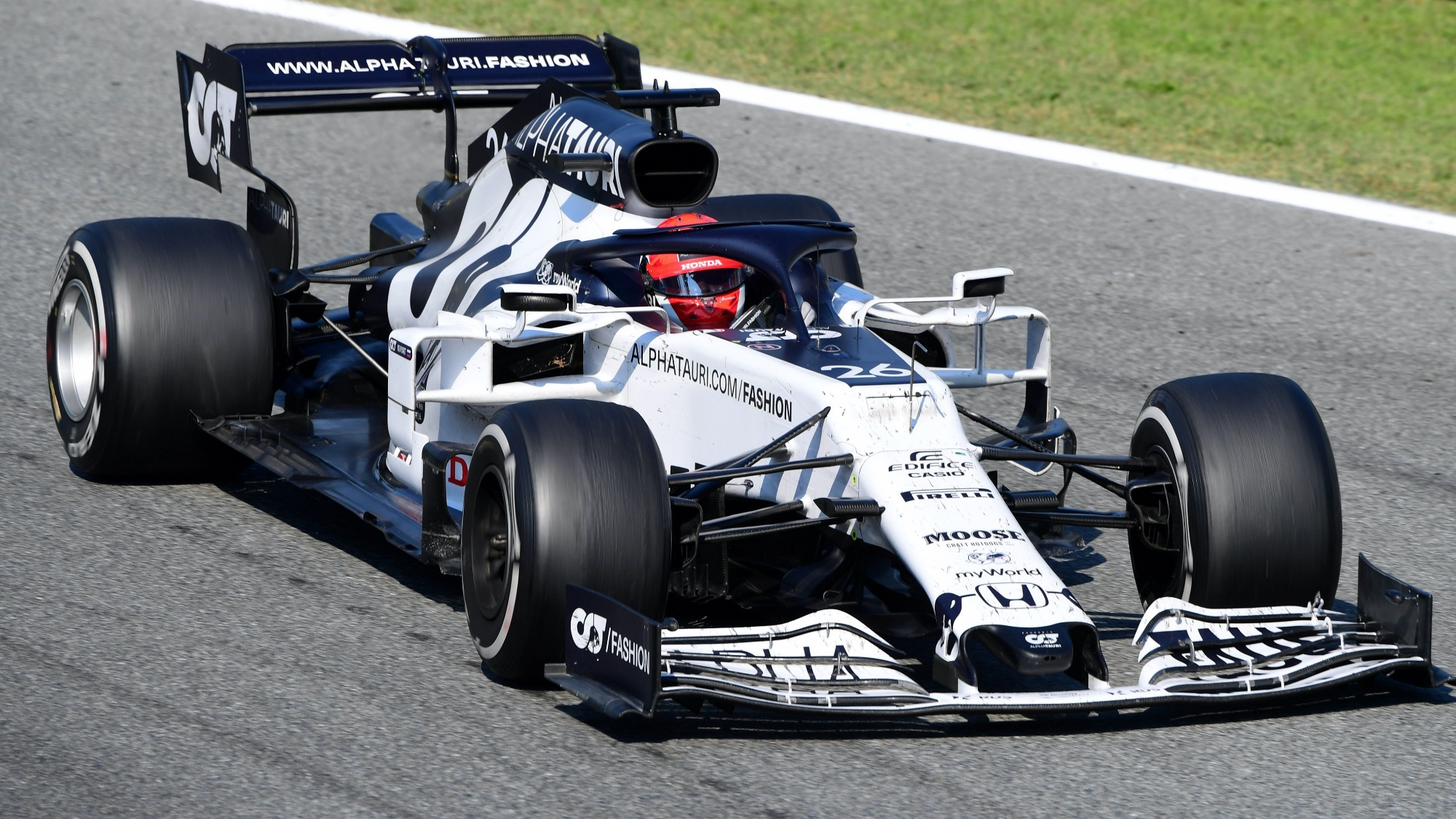 Daniil Kvyat, 2020 Italian GP