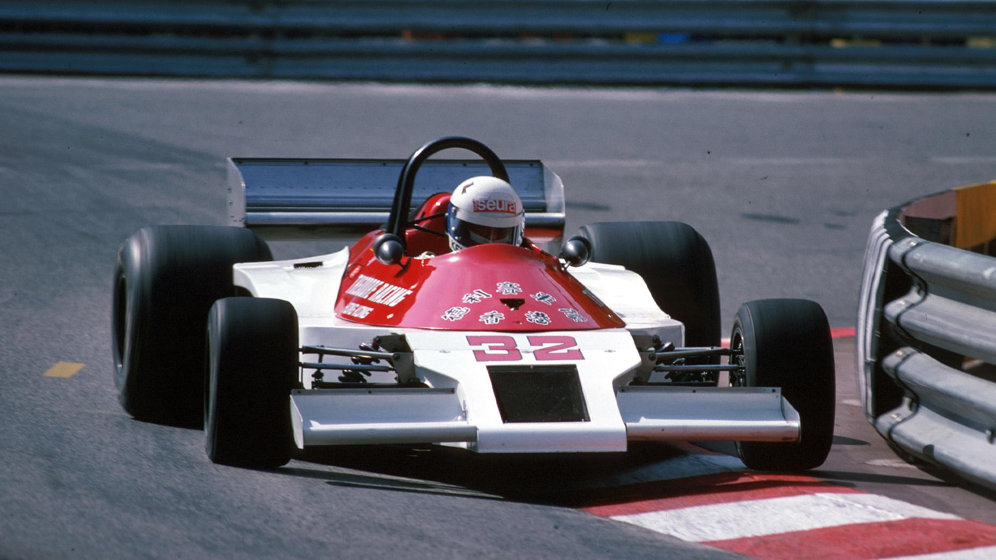 Keke Rosberg in the Theodore-Ford TR1 during the 1978 F1 Monaco Grand Prix