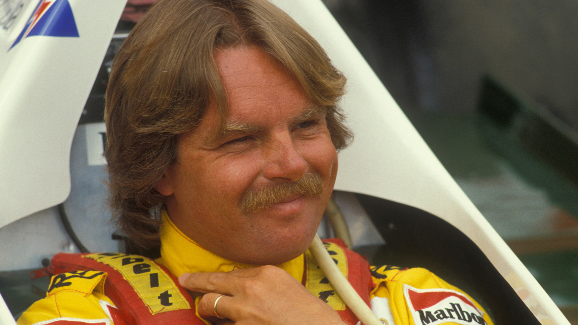 The wheeling, dealing Finn with exceptional car control: Keke Rosberg
