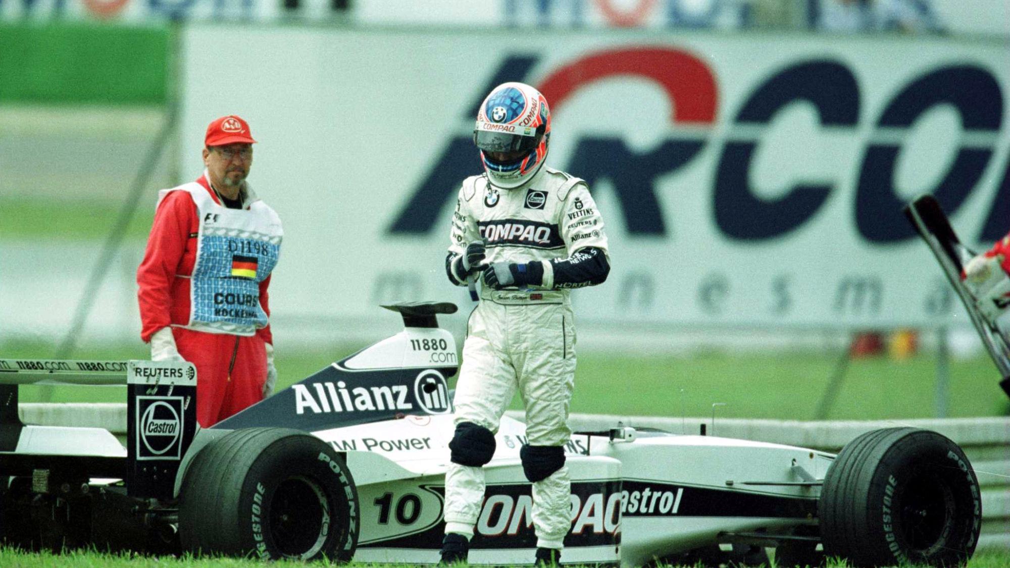 Jenson Button, 2000 German GP