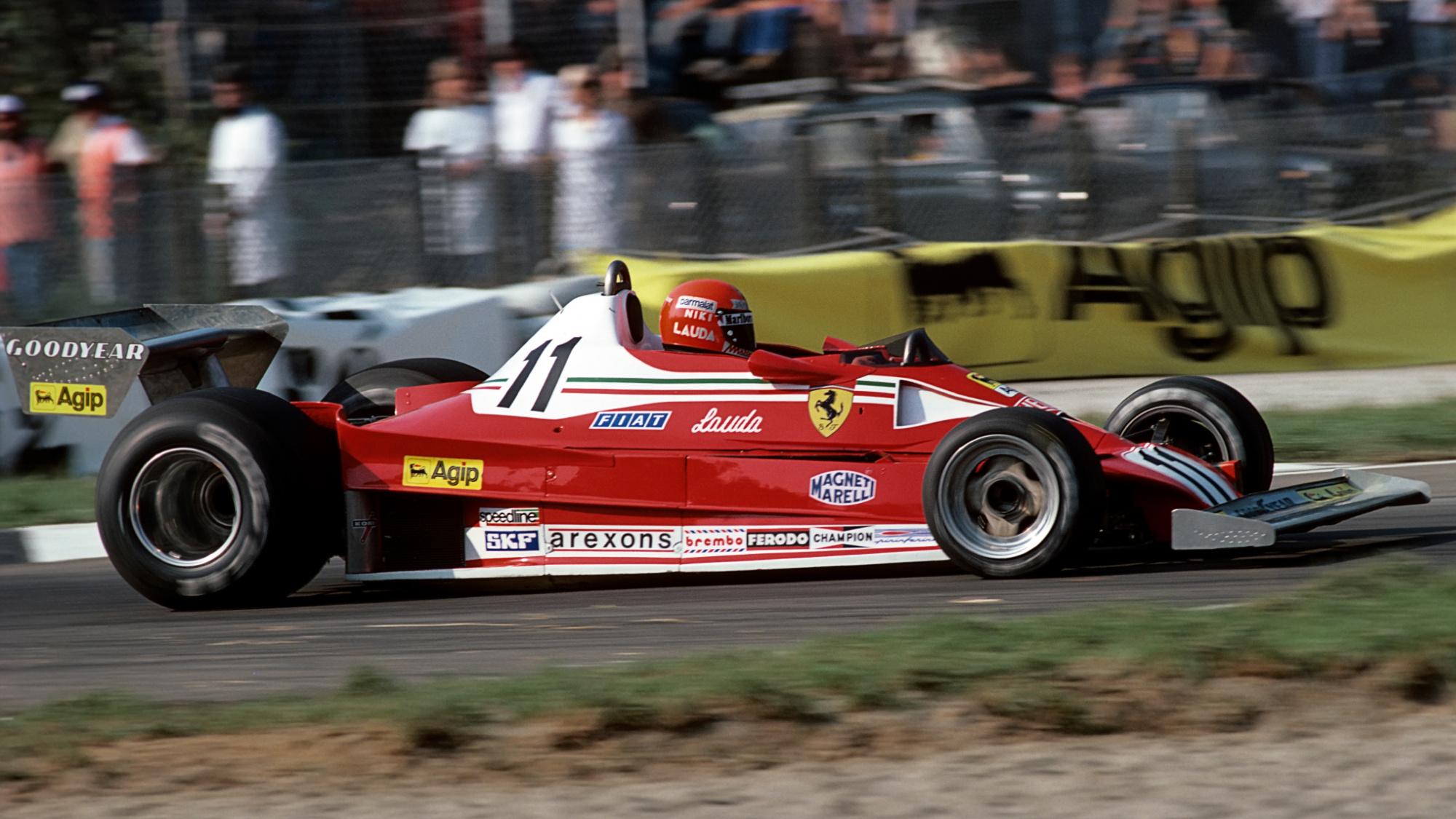 Niki Lauda, 1970 Italian GP