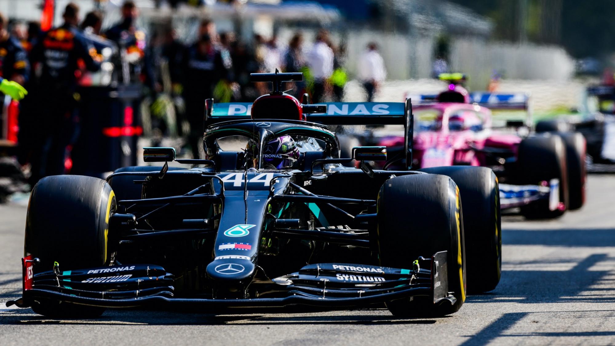 Lewis Hamilton, 2020 Italian GP