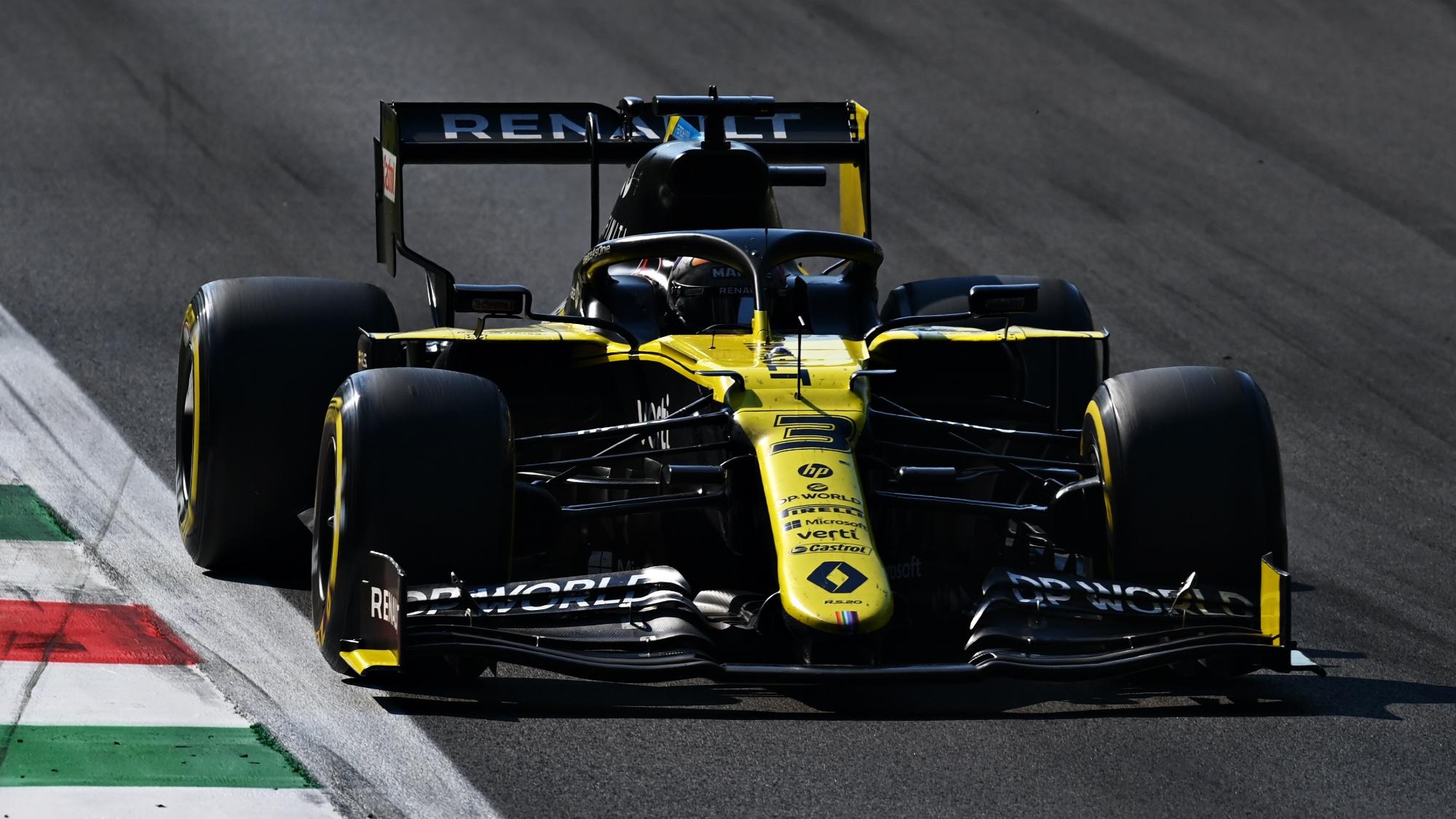 Daniel Ricciardo, 2020 Italian GP