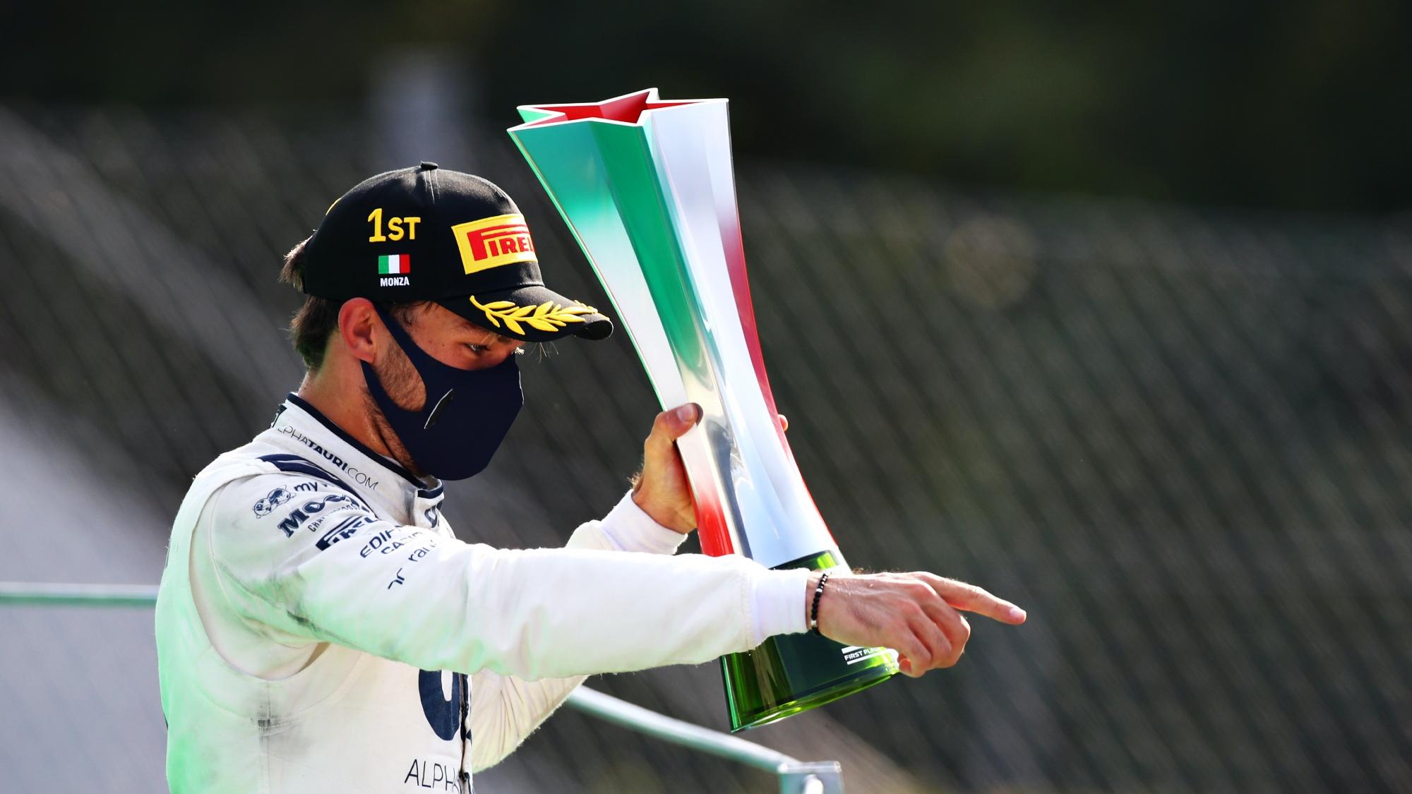 Pierre Gasly, 2020 Italian GP