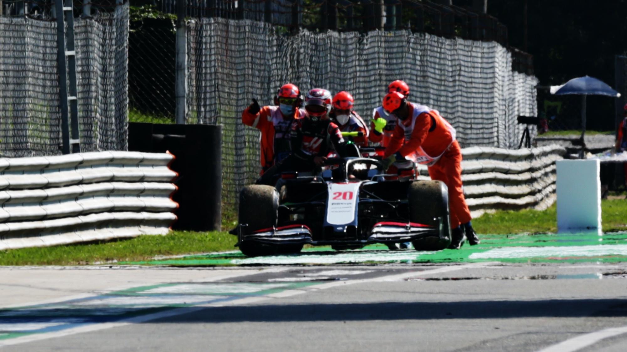 Kevin Magnussen, 2020 Italian GP