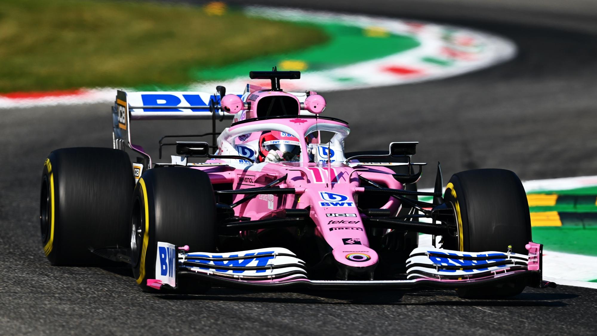 Sergio Perez, 2020 Italian GP