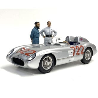 Product image for 1955 Mille Miglia | Mercedes-Benz 300SLR '722' | signed Stirling Moss | 1:18 CMC Model