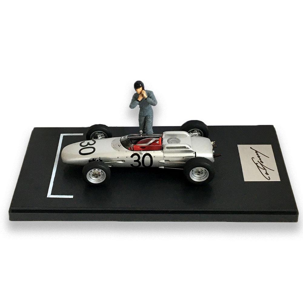 Product image for Porsche 804 F1   Winner 1962 French GP   signed Dan Gurney   1:18 Model