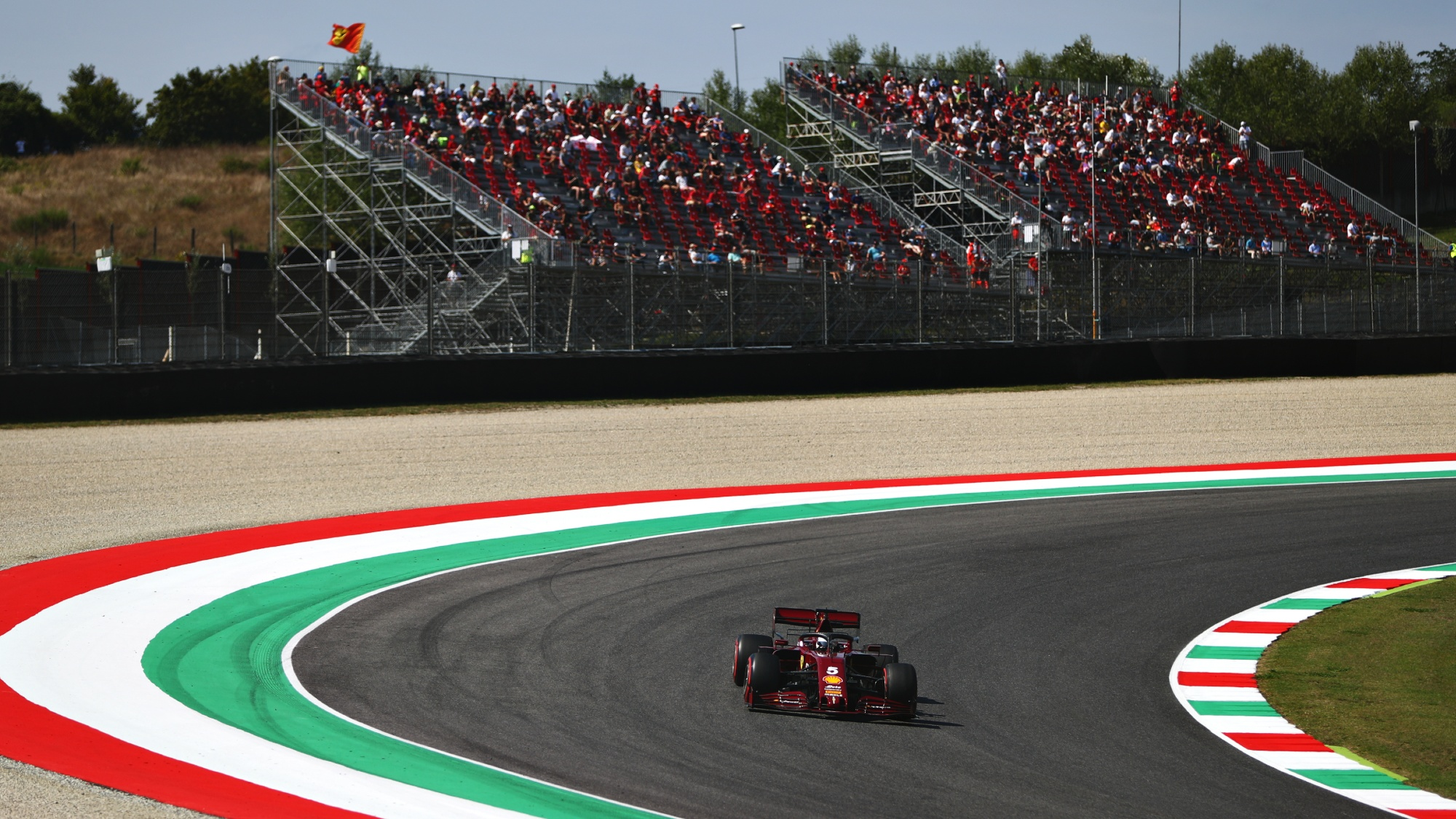 Sebastian Vettel, 2020 Mugello