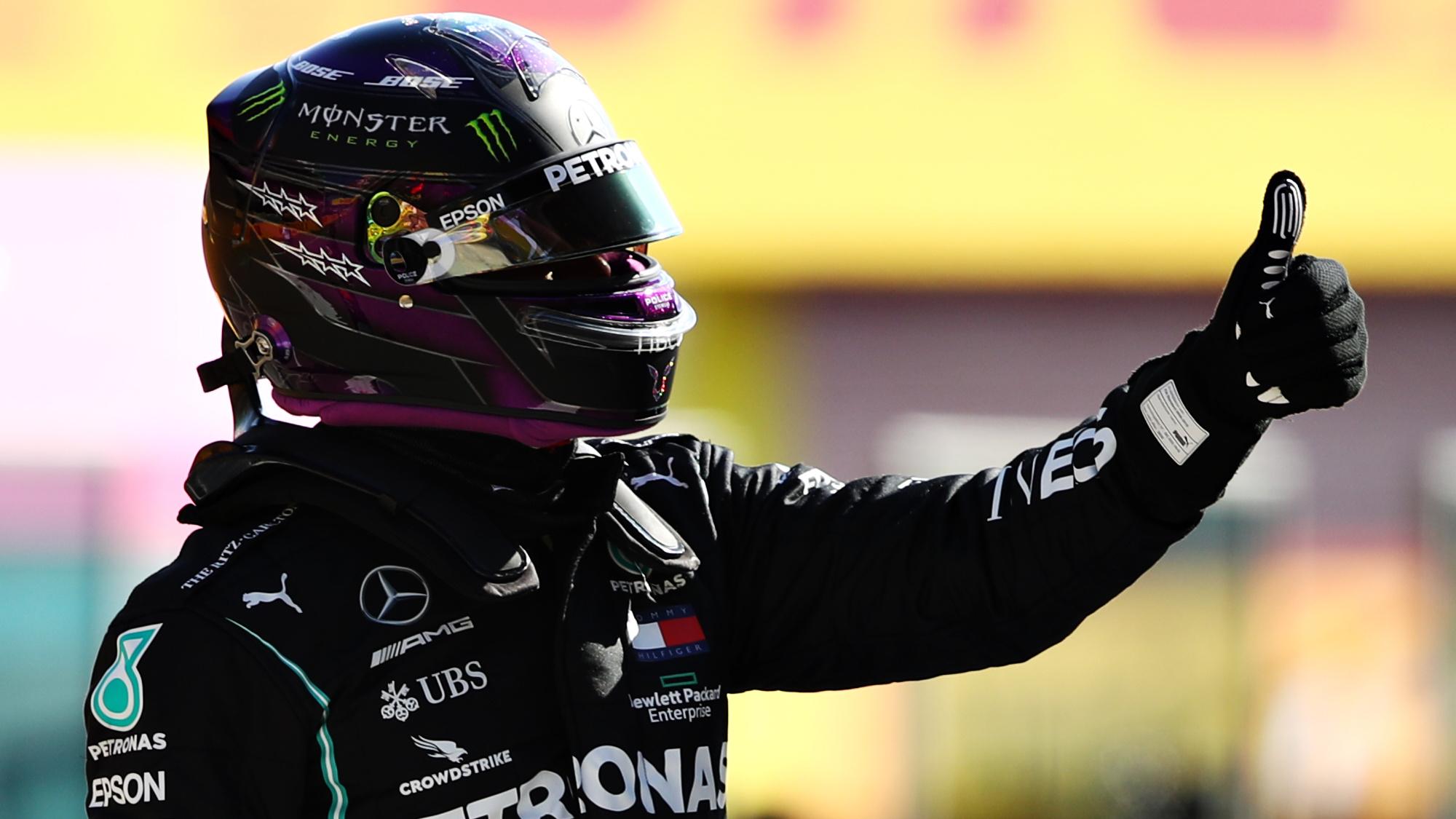 Lewis Hamilton, Mugello 2020
