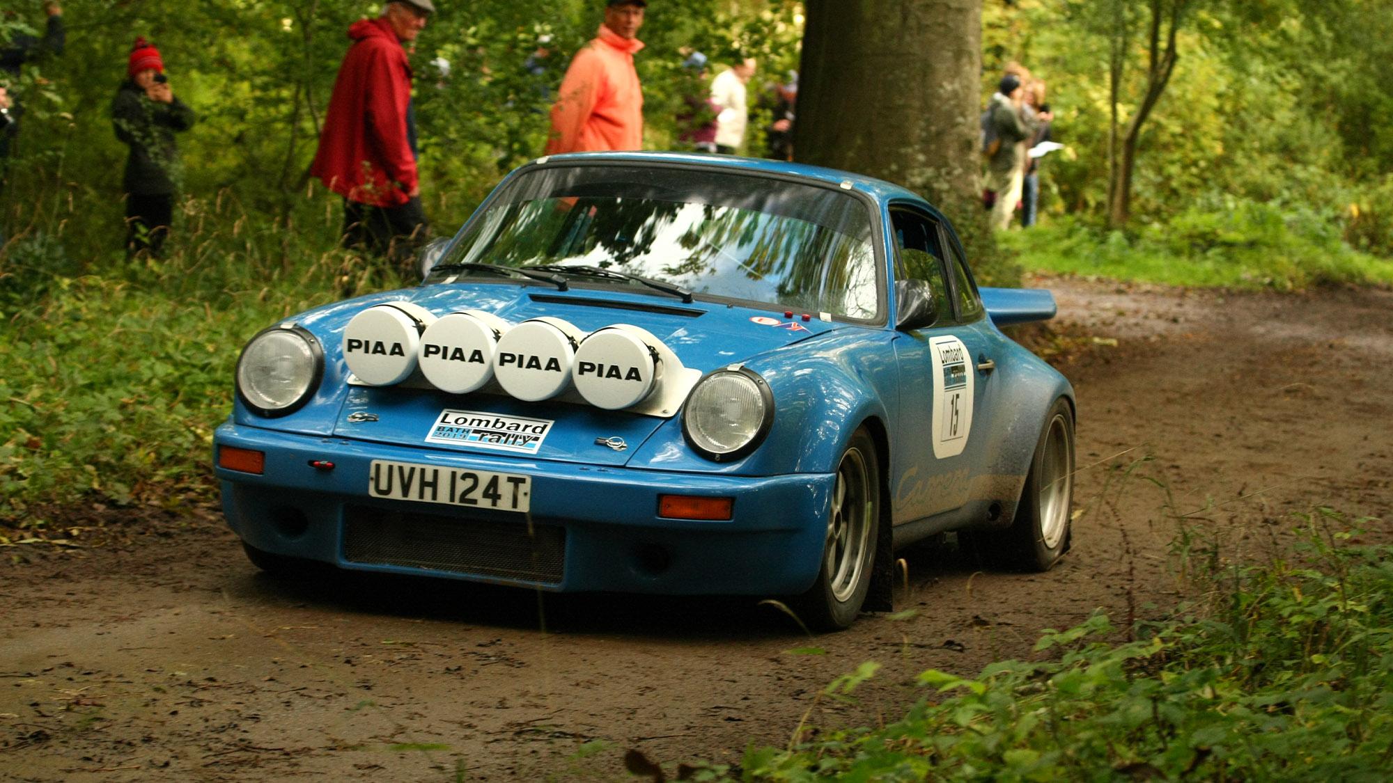 Lombard rally Porsche 911