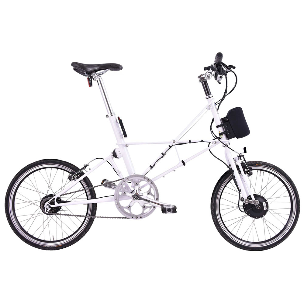 Product image for ARCC Moulton® TSR Electric | 8-Speed | White | Electric Bike