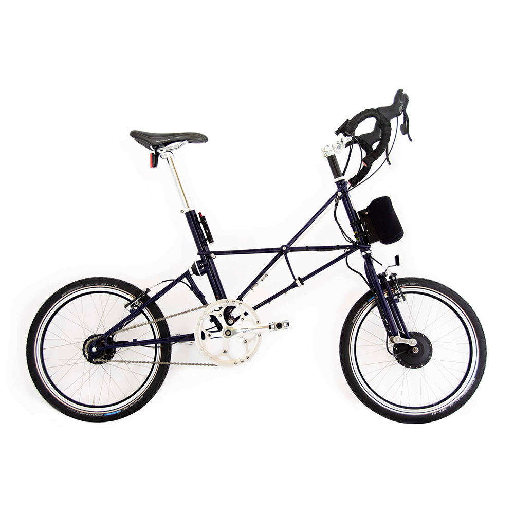 Product image for ARCC Moulton® TSR Electric | 11-Speed | Midnight Blue | Electric Bike