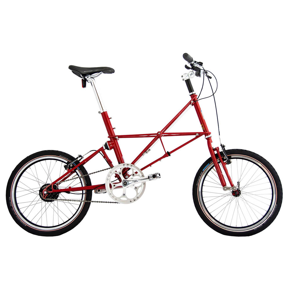 Product image for ARCC Moulton® TSR | 11-Speed | Royal Red | Bike